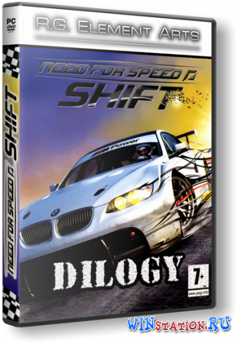 Need for Speed Shift: Dilogy (2009-2011) PC | Repack от R.G. Механики торрент